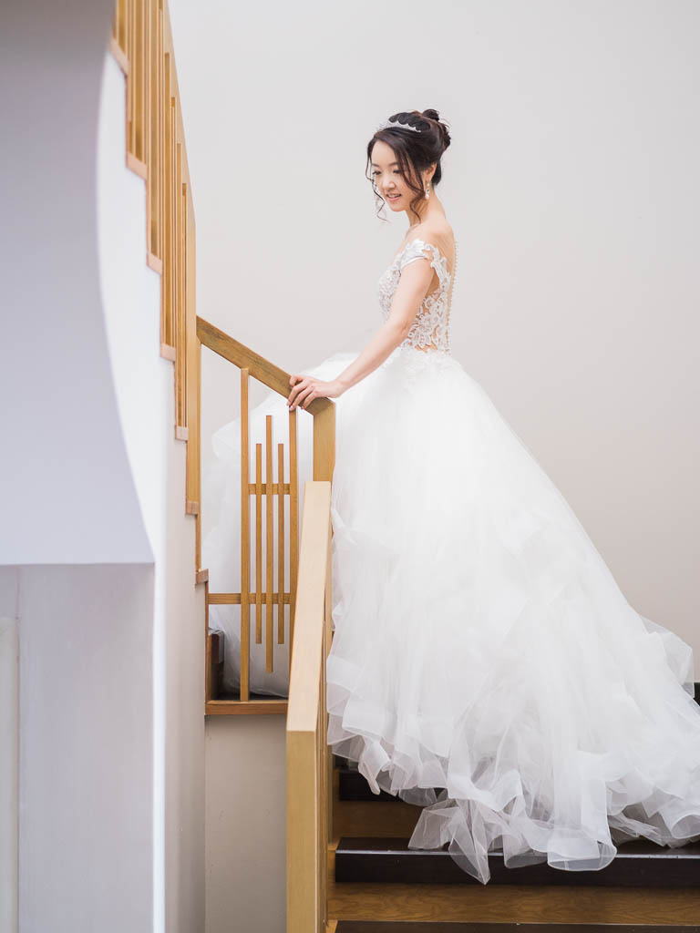 michelle yuan wedding dress
